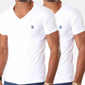 /achat-t-shirts/us-polo-assn-lot-de-2-tee-shirts-double-horse-v-neck-blanc-196906.html