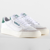 /achat-baskets-basses/adidas-baskets-continental-vulc-ef3534-footwear-white-green-197266.html