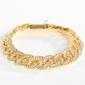 /achat-bracelets/california-jewels-gourmette-cuban-strass-dore-197191.html