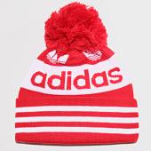 /achat-bonnets/adidas-bonnet-jacquard-pom-ed8763-rouge-blanc-197355.html