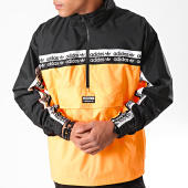 /achat-sweats-col-zippe/adidas-sweat-col-zippe-a-bandes-vocal-neon-ek4335-orange-noir-blanc-197357.html