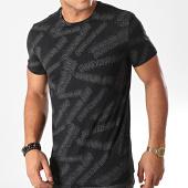 /achat-t-shirt/calvin-klein-tee-shirt-ad-stretch-3542-noir-gris-197486.html