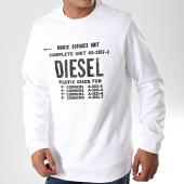 /achat-sweats-col-rond-crewneck/diesel-sweat-crewneck-00s57h-blanc-197450.html