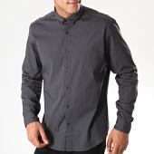 /achat-chemises-manches-longues/esprit-chemise-manches-longues-089ee2f001-gris-anthracite-197442.html