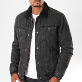 /achat-vestes-jean/jack-and-jones-veste-jean-col-mouton-139-gris-anthracite-noir-197324.html