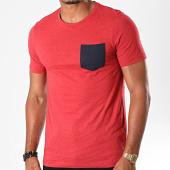 /achat-t-shirts-poche/jack-and-jones-tee-shirt-poche-nepsen-rouge-chine-197363.html