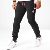 /achat-pantalons-joggings/la-maison-blaggio-pantalon-jogging-kain-noir-blanc-rouge-197419.html
