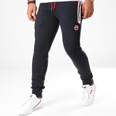 /achat-pantalons-joggings/la-maison-blaggio-pantalon-jogging-kain-bleu-marine-fonce-blanc-rouge-197422.html