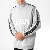 /achat-sweats-col-zippe/nasa-sweat-col-zippe-a-bandes-mt865-gris-chine-noir-197455.html
