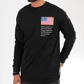/achat-t-shirts-manches-longues/nasa-tee-shirt-manches-longues-mt1167-noir-197466.html