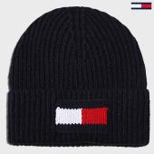 /achat-bonnets/tommy-hilfiger-bonnet-big-flag-5152-bleu-marine-197326.html
