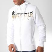 /achat-sweats-zippes-capuche/boxeur-des-rues-sweat-zippe-capuche-4551l-blanc-dore-197682.html