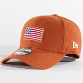 /achat-casquettes-de-baseball/new-era-casquette-9forty-flagged-12040475-caramel-197640.html