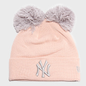 /achat-bonnets/new-era-bonnet-femme-double-pom-cuff-12040540-new-york-yankees-rose-saumon-197649.html