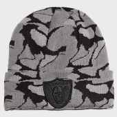 /achat-bonnets/new-era-bonnet-textured-yarn-knit-12040604-oakland-raiders-gris-noir-197655.html