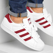 /achat-baskets-basses/adidas-baskets-superstar-ef9240-footwear-white-burgundy-197861.html