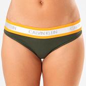 /achat-strings-culottes/calvin-klein-culotte-femme-qf5460e-vert-kaki-orange-argente-197789.html