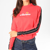 /achat-t-shirts-manches-longues/ellesse-tee-shirt-manches-longues-femme-a-bandes-orsola-sgc07382-rose-197734.html