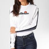 /achat-t-shirts-manches-longues/ellesse-tee-shirt-manches-longues-femme-a-bandes-orsola-sgc07382-blanc-197735.html