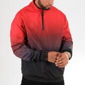 /achat-sweats-col-zippe/urban-classics-sweat-col-zippe-tb3125-rouge-violet-noir-197760.html