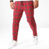 /achat-pantalons-carreaux/urban-classics-pantalon-carreaux-tb2900-rouge-noir-197818.html