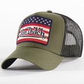 /achat-trucker/von-dutch-casquette-trucker-flag-vert-kaki-197811.html