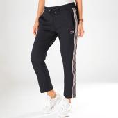 /achat-pantalons-joggings/fila-pantalon-jogging-crop-femme-a-bandes-gvantsa-687297-bleu-marine-197923.html