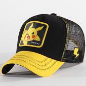 /achat-trucker/pokemon-casquette-pikachu-noir-jaune-198185.html