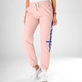 /achat-pantalons-joggings/champion-pantalon-jogging-femme-elastic-cuff-pant-112151-rose-clair-198128.html