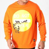 /achat-sweats-col-rond-crewneck/classic-series-sweat-crewneck-19436-orange-198174.html