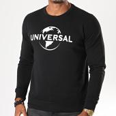 /achat-sweats-col-rond-crewneck/universal-sweat-crewneck-logo-mono-noir-blanc-198065.html