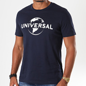 /achat-t-shirts/universal-tee-shirt-logo-mono-bleu-marine-blanc-198069.html