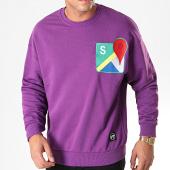 /achat-sweats-col-rond-crewneck/classic-series-sweat-crewneck-19421-violet-198115.html
