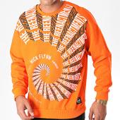 /achat-sweats-col-rond-crewneck/classic-series-sweat-crewneck-19449-orange-198120.html