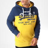 /achat-sweats-capuche/superdry-sweat-capuche-shop-split-panel-m2000050b-jaune-bleu-marine-198141.html