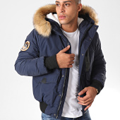 /achat-bombers/superdry-bomber-capuche-fourrure-everest-m5000039a-bleu-marine-198149.html
