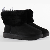 /achat-bottes-boots/ugg-bottines-femme-fluff-mini-quilted-1098533-black-198077.html