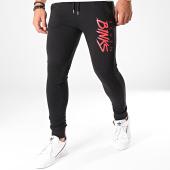 /achat-pantalons-joggings/7-binks-pantalon-jogging-logo-noir-rouge-198245.html