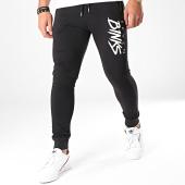 /achat-pantalons-joggings/7-binks-pantalon-jogging-logo-noir-blanc-198248.html