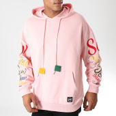 /achat-sweats-capuche/classic-series-sweat-capuche-strass-19414-rose-clair-198261.html