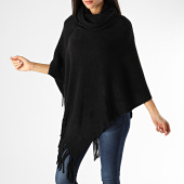 /achat-echarpes-foulards/deeluxe-poncho-femme-a-franges-anis-noir-198318.html