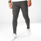 /achat-chinos/grj-denim-pantalon-chino-a-rayures-13997-noir-blanc-198284.html
