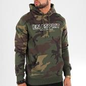 /achat-sweats-capuche/heuss-lenfoire-sweat-capuche-en-esprit-camouflage-vert-kaki-198277.html