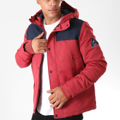 /achat-vestes/jack-and-jones-veste-zippee-capuche-matt-rouge-brique-bleu-marine-198221.html