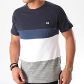 /achat-t-shirts/mz72-tee-shirt-a-bandes-tileno-gris-chine-blanc-marine-198199.html