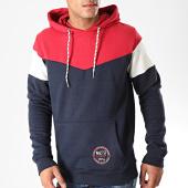 /achat-sweats-capuche/mz72-sweat-capuche-justy-bleu-marine-rouge-blanc-198210.html
