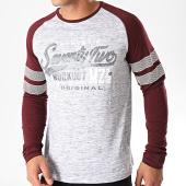 /achat-t-shirts-manches-longues/mz72-tee-shirt-manches-longues-theon-gris-chine-bordeaux-198359.html
