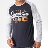 /achat-t-shirts-manches-longues/mz72-tee-shirt-manches-longues-theon-bleu-marine-gris-chine-orange-198363.html