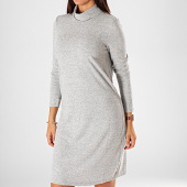 /achat-robes/vero-moda-robe-pull-femme-col-roule-malena-gris-chine-198336.html