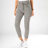 /achat-pantalons-carreaux/vero-moda-pantalon-a-carreaux-femme-eva-paperbag-blanc-noir-jaune-198371.html